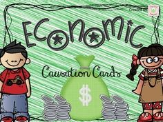 A FREE download of causation cards.  Even if you don't teach economics, check it out to see if you like the causation cards concept!  It's an interactive way to review concepts!