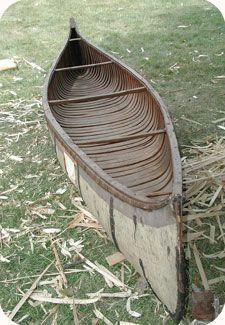 Birch Bark Canoe Building freakin a! Canoe Boat, Kayak Boats, Canoe And Kayak, Canoe Trip, Fishing Boats, Wooden Canoe, Wooden Boats, Outdoor Survival, Outdoor Camping