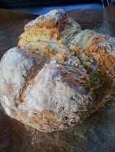 ''My soda bread made from a Paul Hollywood recipe.'' Looks good. Great rise to it too.