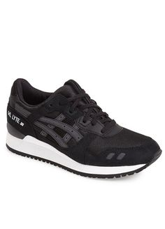 There's no way to lose with this classic split-tongue runner in a clean, black colorway. Gel-Lyte III sneaker ($99.95) by ASICS, nordstrom.com   - Esquire.com