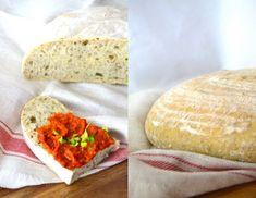 Výborný pšeničný kváskový chlieb