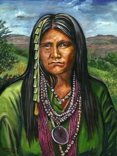 Gouyen-Apache women warrior...avenged her husbands death, escaped and evaded attacks with Geronimo