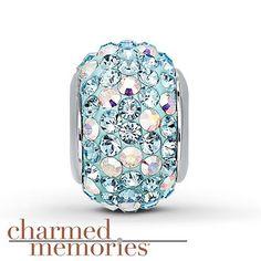 64c6b3848 Charmed Memories Swarovski Elements Sterling Silver Charm- Kay Jewelers -  does it fit Pandora bracelets?