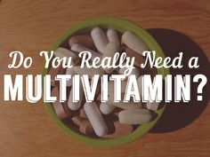 """Sometimes we like to just """"cover our bases"""" by taking a multivitamin. But that might not always be the best answer. Find out some of the drawbacks of multivitamins. http://bubbleandbee.blogspot.com/2014/04/do-you-really-need-multivitamin.html"""
