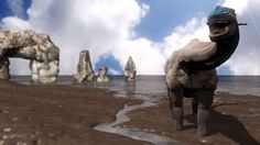 Scientists find footprints - left by some of the biggest dinosaurs ever to have walked on Earth - in a bay on the Isle of Skye.