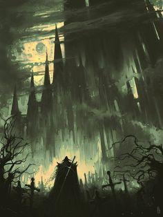 Dark Fantasy Art, Sci Fi Fantasy, Dark Art, Fantasy Fiction, Final Fantasy, Vampire Hunter D, Aesthetic Images, Aesthetic Wallpapers, Horror Art