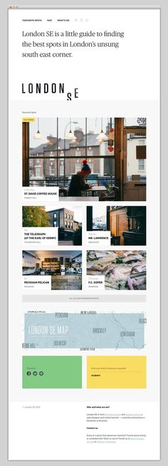 London SE #web #ui #interface