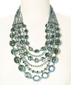 Another great find on #zulily! Blue Red Carpet Necklace #zulilyfinds