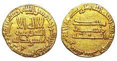 ISLAMIC, Abbasid Caliphate. Al-Mahdi. AH 159-169 / AD 775-785. AV Dinar. - Gold Coins - Coins Abbasid Caliphate, Rare Coins, Gold Coins, Islamic