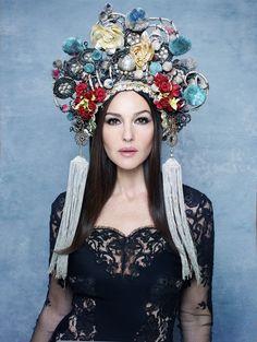 russian inspired headdress   Tumblr
