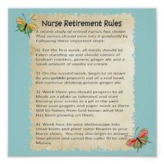 Personalized Nurse Retirement Art - Nurse Retirement Gift ...