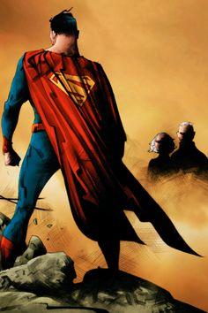 Superman by Jae Lee Mundo Superman, Superman Family, Superman Man Of Steel, Batman And Superman, Superman Stuff, Comic Book Artists, Comic Artist, Comic Books Art, Man Of Steel