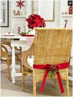 Como puedo Decorar mis Sillas para Navidad Aqui te traigo imagenes de Decoracion de Sillas Navideñas, hay estilos y modelos para todos los ...