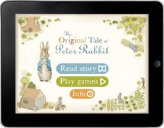 Great Website for Peter Rabbit and reading activities. Using this for Spring/Retelling!