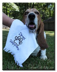 Let's face it...drool happens! Enter to win one of these awesome Drool Towels for yourself!