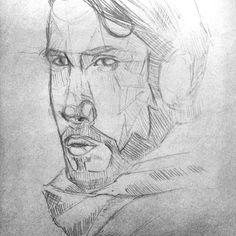 Quick sketch of @avi_kaplan A drawing of avi? Oh man that's so new  #portrait #art #illustration #drawing #avikaplan #avi #pentatonix #ptx #ptxart