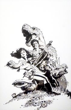 Portfolio - The Complete Various Drawings by Mark Schultz