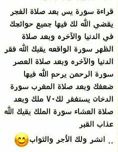 فضل السور القرآنية