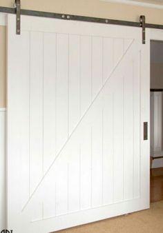 Superbe White Barn Door Bathroom Barn Door, Laundry Room Doors, Diy Barn Door,  Closet
