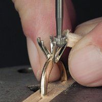 Practical Stone Setting Part 25: Setting an Oval in Prongs - JCK