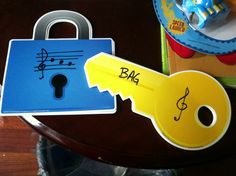 Unlock the secret. Match the word using the music alphabet. I borrowed this idea from Pinterest. Just wanted to share.