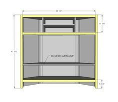 16 amazing corner entertainment center ideas images wood tv unit rh pinterest com diy corner tv cabinet plans diy corner tv cabinet plans