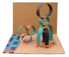 MODERN PAPER SCULPTURE | Picasso | Calder | Abstract art for kids | Paper art | Cardboard art | tap art | Fine art for kids