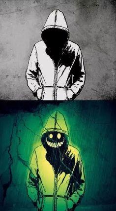 grafika hoodie and creepypasta