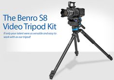 planet5D Giveaway - Win one of three Benro S8 Video Tripod Products! - http://blog.planet5d.com/2014/05/planet5d-giveaway-win-one-of-three-benro-s8-video-tripod-products/