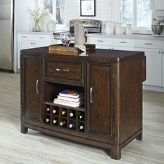 Crescent Hill Kitchen Island - Overstock™ Shopping - Big Discounts on Kitchen Islands