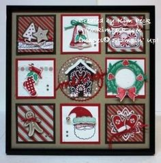 Best Shadow Box Ideas You Did Not Know About shadow box ideas Shadow box ideas (memory box ideas) Tags: Shadow Box Ideas diy, Shadow Box Ideas baby, Shadow Box Ideas memorial, military Christmas Paper Crafts, Stampin Up Christmas, Christmas Projects, Holiday Crafts, Christmas Decorations, Christmas Shadow Boxes, Christmas Frames, Noel Christmas, All Things Christmas