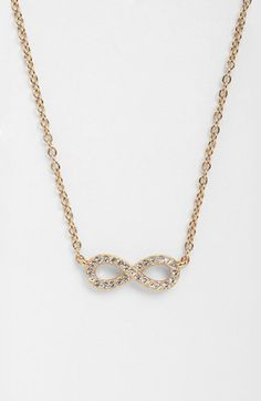 Nadri Infinity Symbol Pendant Necklace available at #Nordstrom