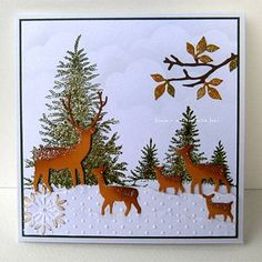 Winter Wonderland, love this card too and can't wait to try and design something off this. Thanks for sharing on fb.