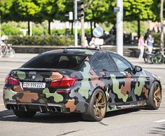 Camouflage BMW M5 F10. Camouflage, Bmw M5 F10, Camo Stuff, Abstract, Vehicles, Car, Instagram Posts, Automobile, Camo
