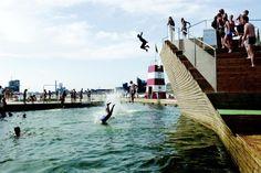 Port Copenhague - town pool