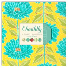 Chantilly  Layer Cake by Lauren  Jessi Jung for by LilyRoseQuilts, $32.00