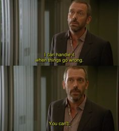 charming life pattern: house m.d. - quote - hugh laurie