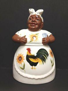 """Black American Aunt Jemima cookie jar 12""""H, 80984 by ACK by 80984. $15.99. Black American Aunt Jemima cookie jar 12""""H, 80984 by ACK. Black American Aunt Jemima cookie jar 12""""H, 80984 by ACK"""