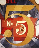 Charles Demuth - I saw No. 5