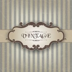 Find Vintage Frame stock images in HD and millions of other royalty-free stock photos, illustrations and vectors in the Shutterstock collection. Vintage Frames, Vintage Picture Frames, Vintage Posters, Vintage Photos, Background Retro, Striped Background, Textured Background, Abstract Shapes, Geometric Shapes