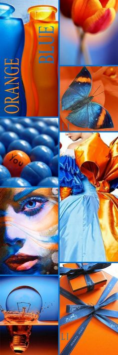 Lu's Inspiration ღ Also known as Denver Bronco colors!