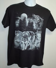 This great looking print on a Gildan/Jerzees black shirt. Super soft feel and bold. Shirt has white print on a black shirt or black print on a white