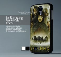 Lord of the Rings Movie, For Samsung s4 Hard Plastic Black | YourCazeMate - Accessories on ArtFire