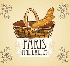 Download Free Vintage Paris France Bakery Vector Illustration 02 under the free Vector Misc category(ies) at TitanUI.CoM!