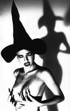 """Ellen von Unwerth """"Wicked"""" photo series, Adriana Lima.....gives new meaning to """"Colder than a witches ti....."""" haha"""