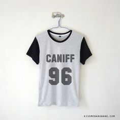 Caniff 96 Baseball Tee Taylor Caniff Youtuber Shirt Vine Tumblr Plus... (€12) ❤ liked on Polyvore featuring tops, womens plus tops, plus size shirts, shirts & tops, pattern shirts and pattern tops