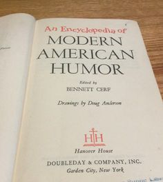Rare Book  An Encyclopedia of Modern American by ClassicsByTAF