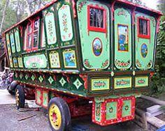 Gypsy caravan: Gypsy Caravans, Gypsy Waggons and Vardos; Photo Gallery 8