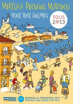 Affiche Marseille 2013.