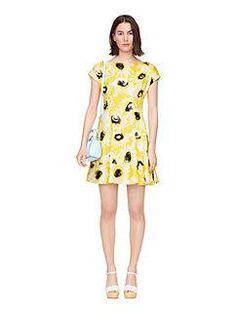 sunny daisy fiorella dress by kate spade new york